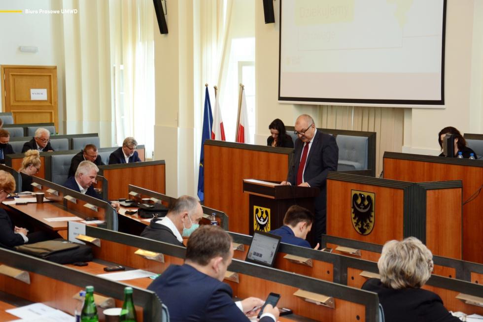 Zarząd Województwa uzyskał votum zaufania oraz absolutorium za wykonanie budżetu w2019 roku