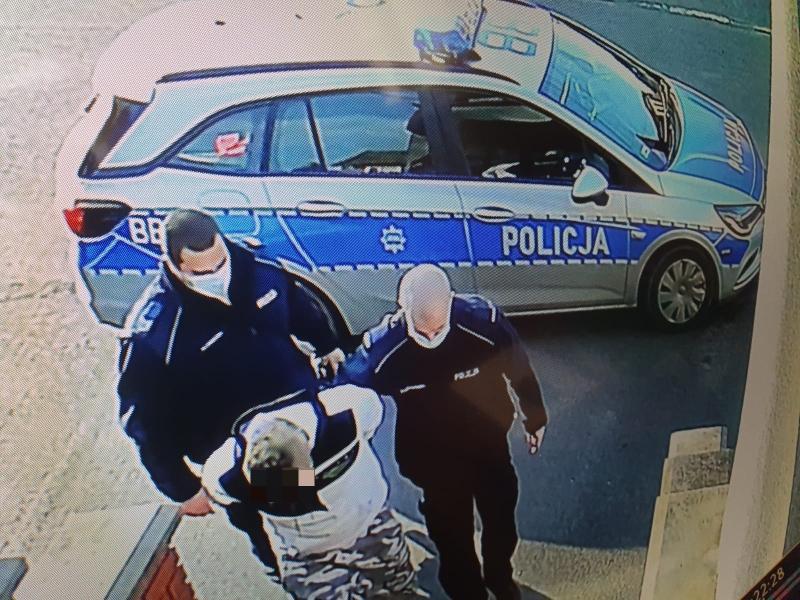 Poszukiwany zatrzymany